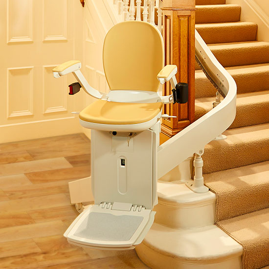 san francisco stairchair curved acorn 180 stairlifts