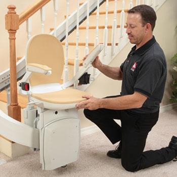 Great Stairlift Sales Service Install Bruno Elan Sre3000