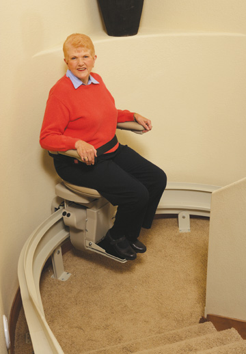 Los Angeles Stair LA Bruno StairLift Elan Bruno Elite 80