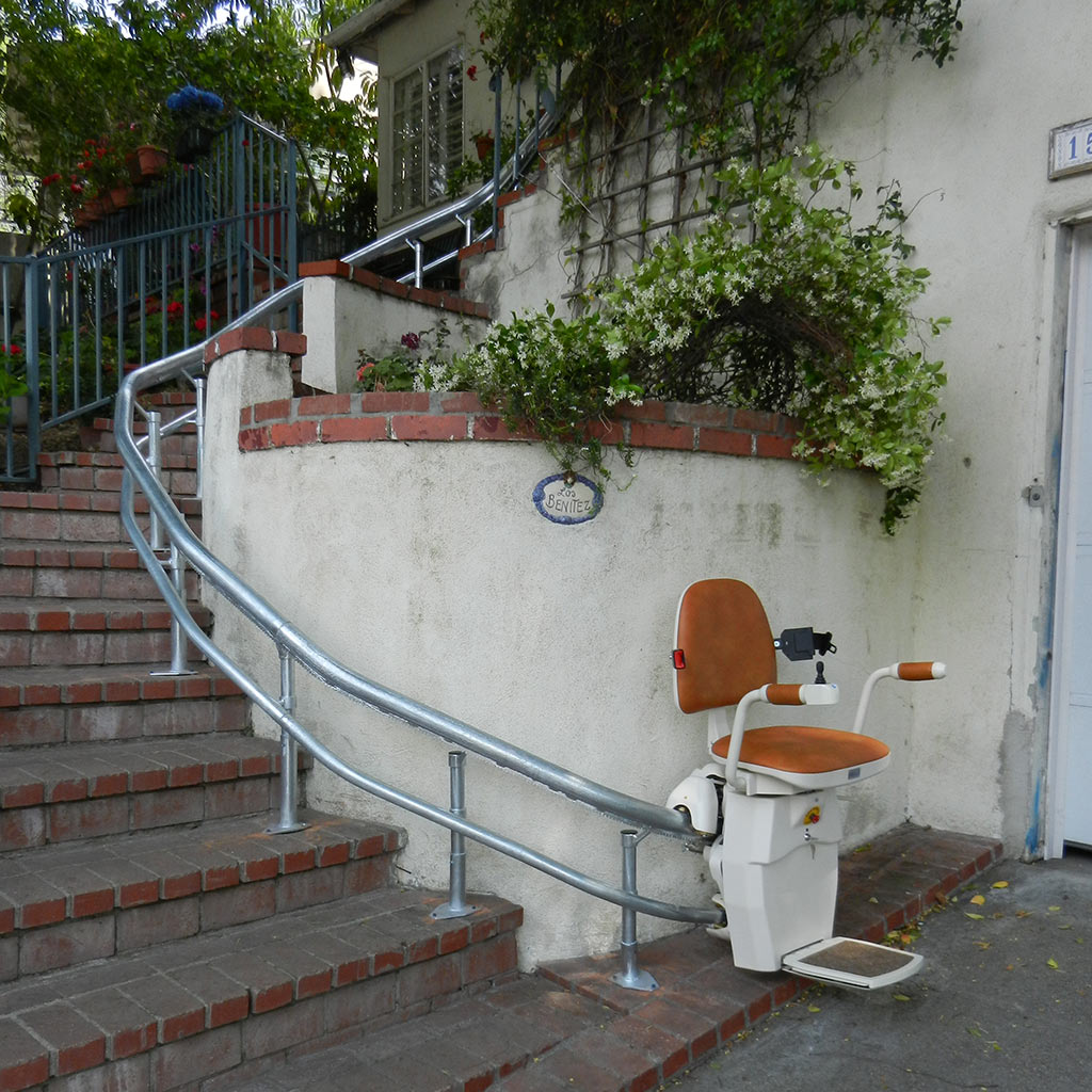 Los Angeles Outdoor StairLifts