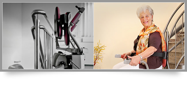 Stairlift Curved Stairs Los Angeles ...